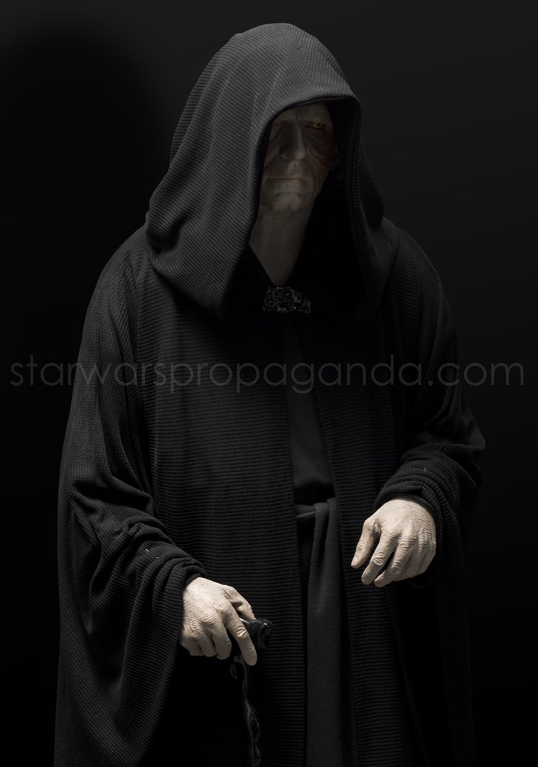The Emperor Seven Tarot Cards From Different Packs Other: EMPEROR PALPATINE LIFESIZE Costume Display